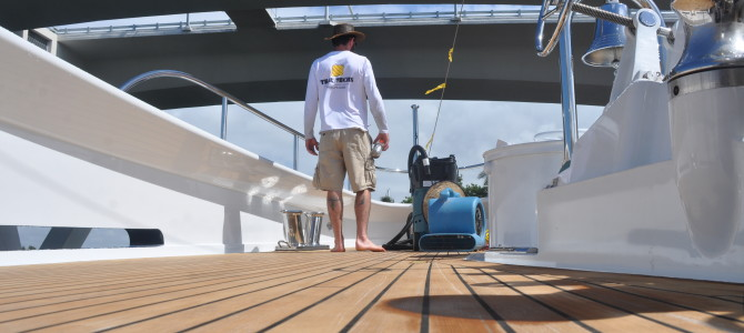 Teak Decking Repair – M/Y Kisses