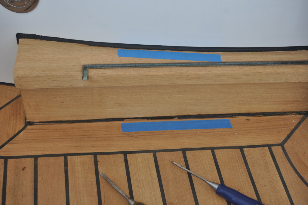 Groove Depth & Teak Deck Caulk Repair
